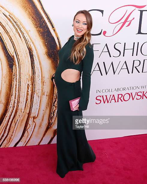 Olivia Wilde attends the 2016 CFDA Fashion Awards at the Hammerstein Ballroom on June 6 2016 in New York City