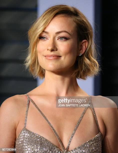 Olivia Wilde attends the 2018 Vanity Fair Oscar Party following the 90th Academy Awards at The Wallis Annenberg Center for the Performing Arts in...