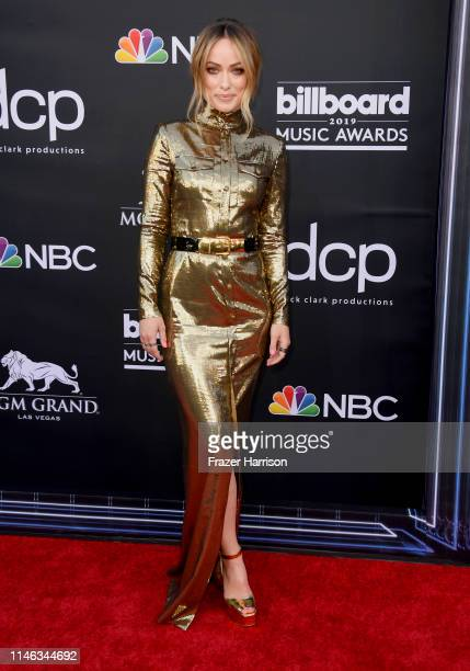 Olivia Wilde attends the 2019 Billboard Music Awards at MGM Grand Garden Arena on May 01 2019 in Las Vegas Nevada