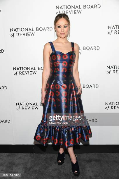 Olivia Wilde attends the 2019 National Board Of Review Gala at Cipriani 42nd Street on January 08 2019 in New York City