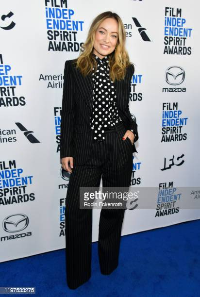 Olivia Wilde attends the 2020 Film Independent Spirit Awards Nominees Brunch at BOA Steakhouse on January 04 2020 in West Hollywood California