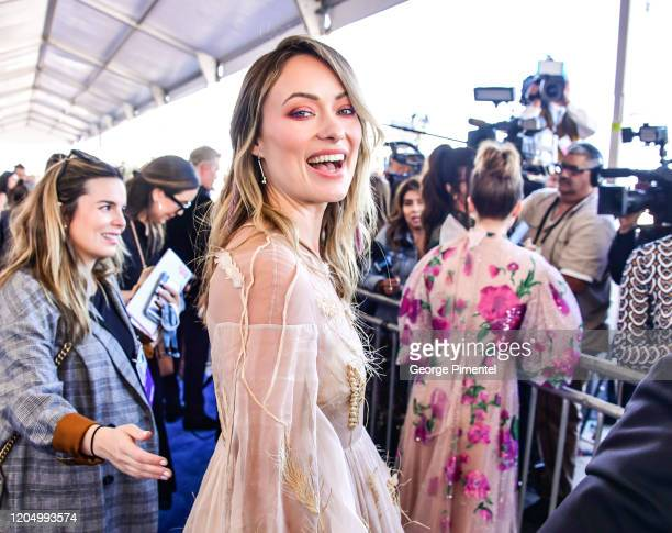 Olivia Wilde attends the 2020 Film Independent Spirit Awards on February 08 2020 in Santa Monica California