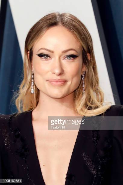 Olivia Wilde attends the 2020 Vanity Fair Oscar Party at Wallis Annenberg Center for the Performing Arts on February 09, 2020 in Beverly Hills,...