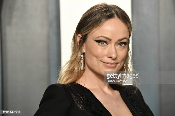 Olivia Wilde attends the 2020 Vanity Fair Oscar Party hosted by Radhika Jones at Wallis Annenberg Center for the Performing Arts on February 09 2020...