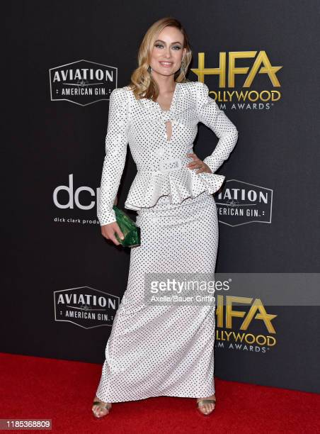 Olivia Wilde attends the 23rd Annual Hollywood Film Awards at The Beverly Hilton Hotel on November 03 2019 in Beverly Hills California