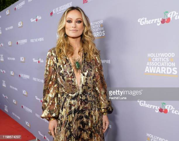 Olivia Wilde attends the 3rd Annual Hollywood Critics Awards at Taglyan Complex on January 09, 2020 in Los Angeles, California.