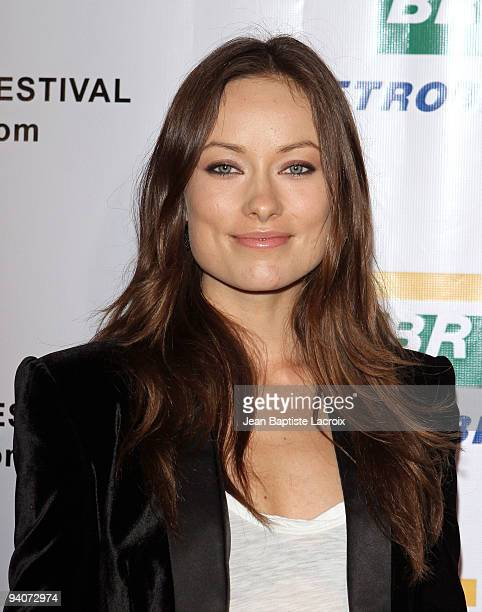 Olivia Wilde attends the 6th annual Artivist Film Festival Awards at the Egyptian Theatre at the Egyptian Theatre on December 5, 2009 in Hollywood,...