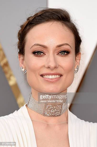 Olivia Wilde attends the 88th Annual Academy Awards at Hollywood Highland Center on February 28 2016 in Hollywood California