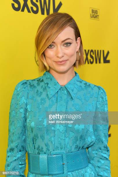 Olivia Wilde attends the 'A Vigilante' Premiere 2018 SXSW Conference and Festivals at Paramount Theatre on March 10 2018 in Austin Texas