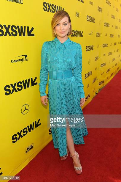 Olivia Wilde attends the A Vigilante Premiere 2018 SXSW Conference and Festivals at Paramount Theatre on March 10 2018 in Austin Texas