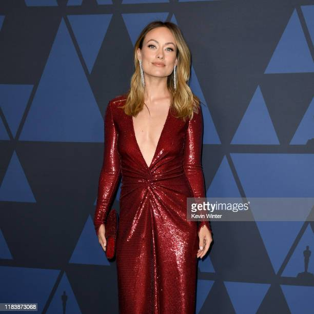 Olivia Wilde attends the Academy Of Motion Picture Arts And Sciences' 11th Annual Governors Awards at The Ray Dolby Ballroom at Hollywood Highland...
