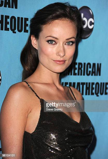 Olivia Wilde attends the at American Cinematheque 24th Annual Award Presentation To Matt Damon at The Beverly Hilton hotel on March 27 2010 in...