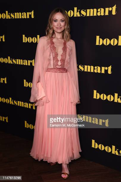 Olivia Wilde attends the BOOKSMART Gala Screening at Picturehouse Central on May 07 2019 in London England