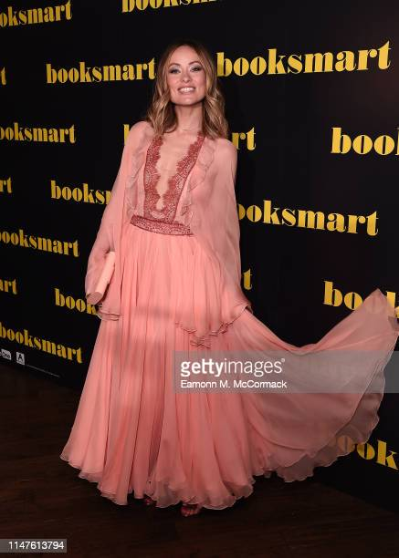 """Olivia Wilde attends the """"BOOKSMART"""" Gala Screening at Picturehouse Central on May 07, 2019 in London, England."""