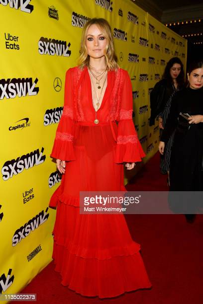 Olivia Wilde attends the Booksmart Premiere 2019 SXSW Conference and Festivals at Paramount Theatre on March 10 2019 in Austin Texas