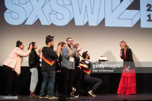 "Olivia Wilde attends the ""Booksmart"" Premiere 2019 SXSW Conference and Festivals at Paramount Theatre at Paramount Theatre on March 10, 2019 in..."
