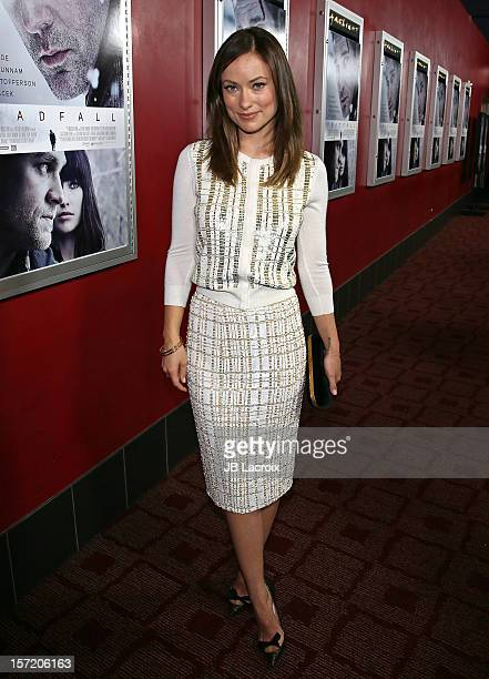 Olivia Wilde attends the 'Deadfall' Los Angeles Premiere at ArcLight Hollywood on November 29 2012 in Hollywood California