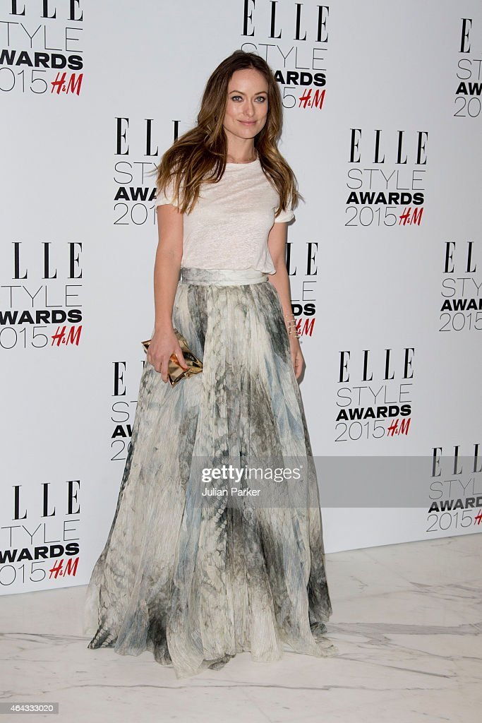 Olivia Wilde attends the Elle Style Awards 2015 at Sky Garden @ The Walkie Talkie Tower on February 24, 2015 in London, England.