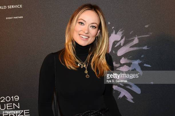 Olivia Wilde attends the Fourth Annual Berggruen Prize Gala celebrating 2019 Laureate Supreme Court Justice Ruth Bader Ginsburg in New York City on...