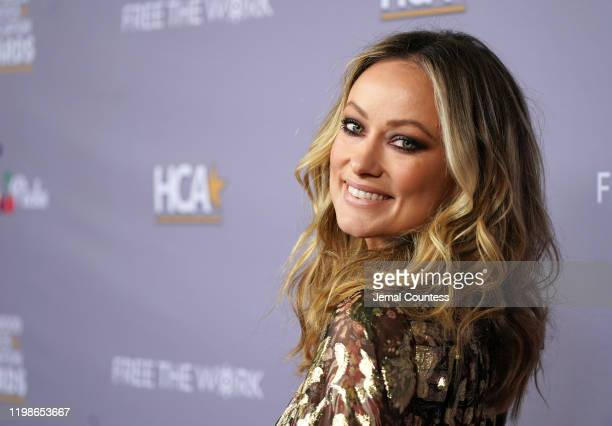 Olivia Wilde attends the Hollywood Critics Awards at Taglyan Complex on January 09 2020 in Los Angeles California