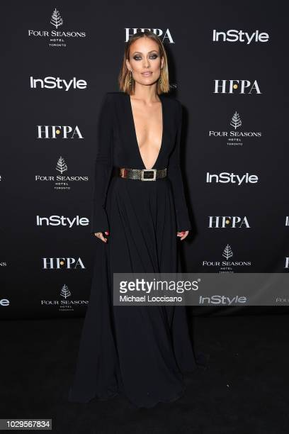 Olivia Wilde attends The Hollywood Foreign Press Association and InStyle Party during 2018 Toronto International Film Festival at Four Seasons Hotel...