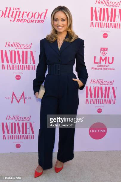 Olivia Wilde attends The Hollywood Reporter's Annual Women in Entertainment Breakfast Gala at Milk Studios on December 11, 2019 in Hollywood,...
