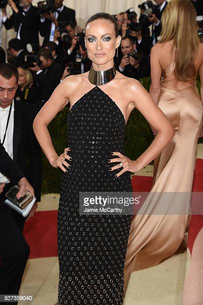 Olivia Wilde attends the 'Manus x Machina Fashion In An Age Of Technology' Costume Institute Gala at Metropolitan Museum of Art on May 2 2016 in New...