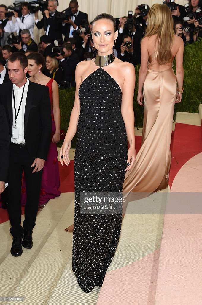 Olivia Wilde attends the 'Manus x Machina: Fashion In An Age Of Technology' Costume Institute Gala at Metropolitan Museum of Art on May 2, 2016 in New York City.