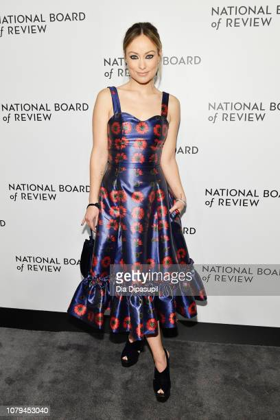 Olivia Wilde attends The National Board of Review Annual Awards Gala at Cipriani 42nd Street on January 8, 2019 in New York City.