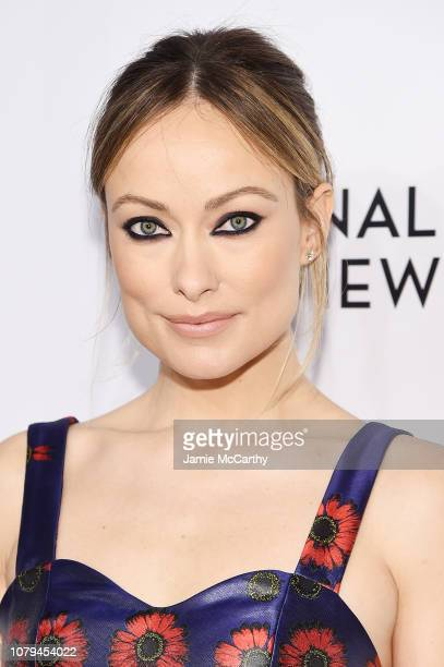 Olivia Wilde attends The National Board of Review Annual Awards Gala at Cipriani 42nd Street on January 8 2019 in New York City