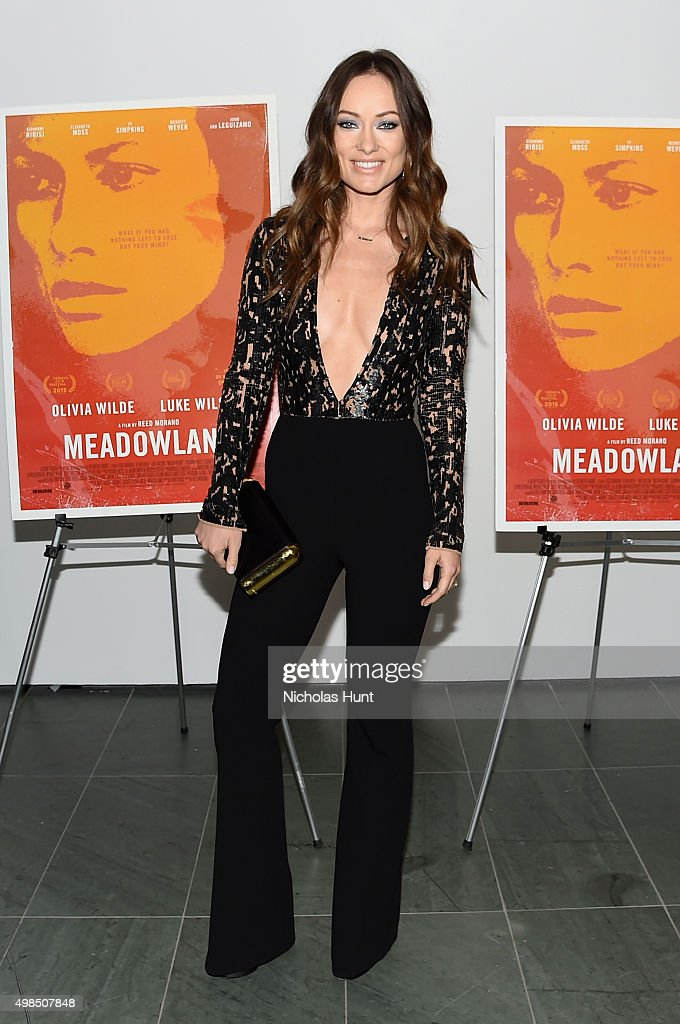 "New York Screening Of ""Meadowland"" Directed By Reed Morano With Olivia Wilde Hosted By Martin Scorsese"