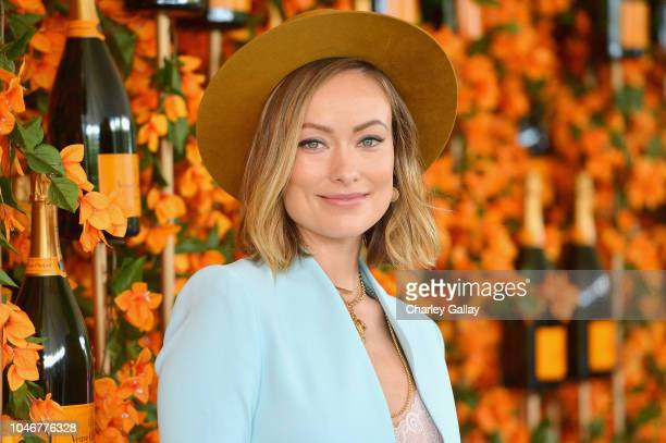 Olivia Wilde attends the NinthAnnual Veuve Clicquot Polo Classic Los Angeles at Will Rogers State Historic Park on October 6 2018 in Pacific...