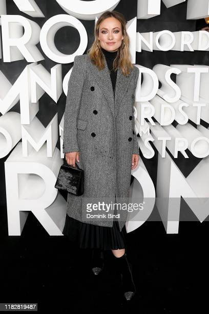 Olivia Wilde attends the Nordstrom NYC Flagship Opening Party on on October 22, 2019 in New York City.