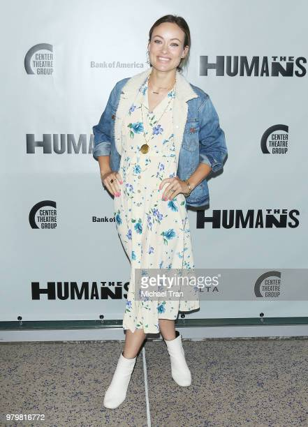 Zoe Perry attends the opening night of 'The Humans' held at Ahmanson Theatre on June 20 2018 in Los Angeles California