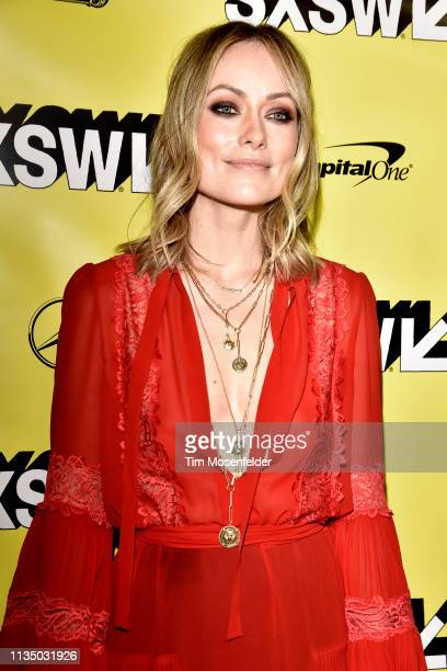 Olivia Wilde attends the premiere of Booksmart during the 2019 SXSW Conference And Festival at the Paramount Theatre on March 10 2019 in Austin Texas