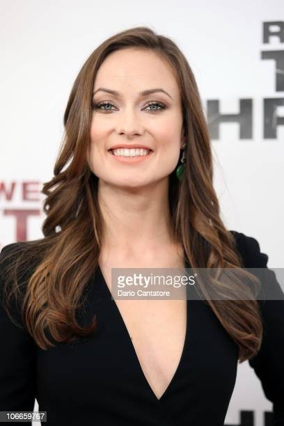 Olivia Wilde attends the premiere of The Next Three Days at Ziegfeld Theatre on November 9 2010 in New York City
