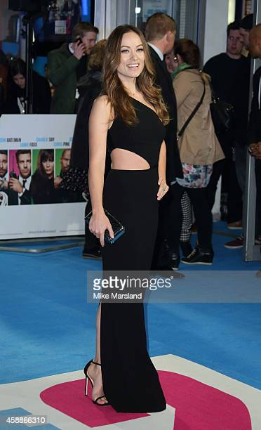 Olivia Wilde attends the UK Premiere of Horrible Bosses 2 at Odeon West End on November 12 2014 in London England