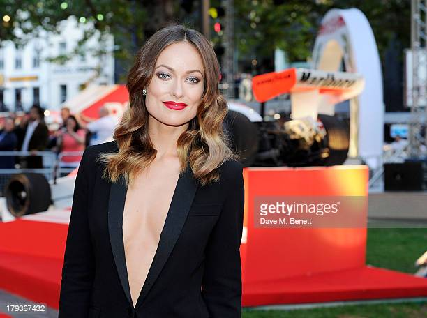 Olivia Wilde attends the World Premiere of 'Rush' at Odeon Leicester Square on September 2, 2013 in London, England.