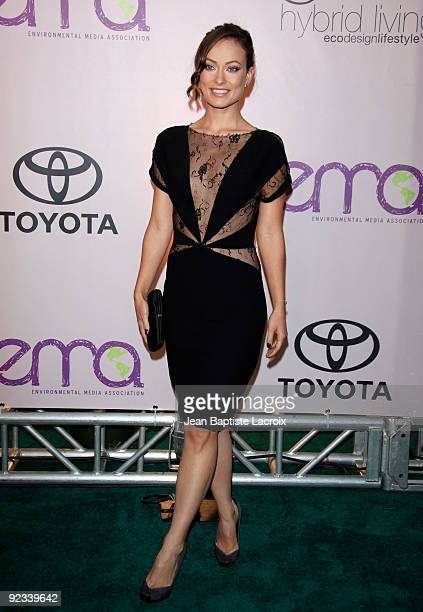 Olivia Wilde attends to the 20th Anniversary - 2009 EMA Awards held on the backlot at Paramount Studios on October 25, 2009 in Los Angeles,...