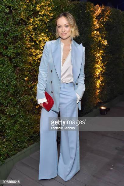 Olivia Wilde attends Women In Film Pre-Oscar Cocktail Party presented by Max Mara and Lancome with additional support from Crustacean Beverly Hills,...