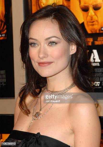 Olivia Wilde during Alpha Dog Los Angeles Premiere Arrivals at ArcLight Cinemas in Hollywood California United States