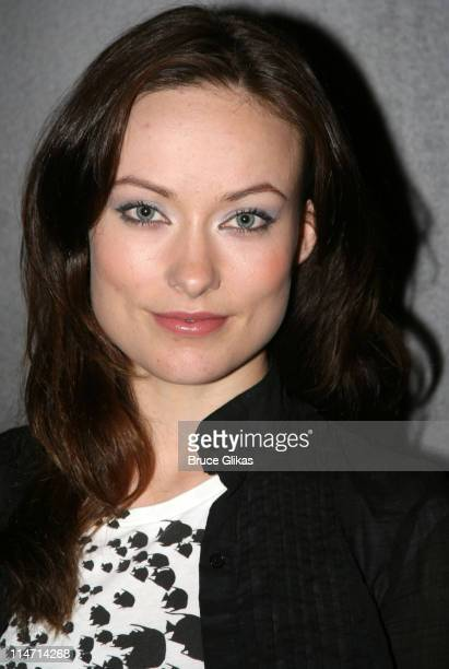 Olivia Wilde during David Strathairn joins Beauty on the Vine Off Broadway May 29 2007 at The Epic Theater Center in New York City New York United...
