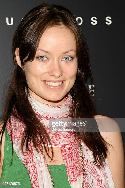"""Olivia Wilde during """"Fracture"""" Special Screening Hosted by The Cinema Society and Hugo Boss - Inside Arrivals at Tribeca Grand Hotel Screening Room..."""