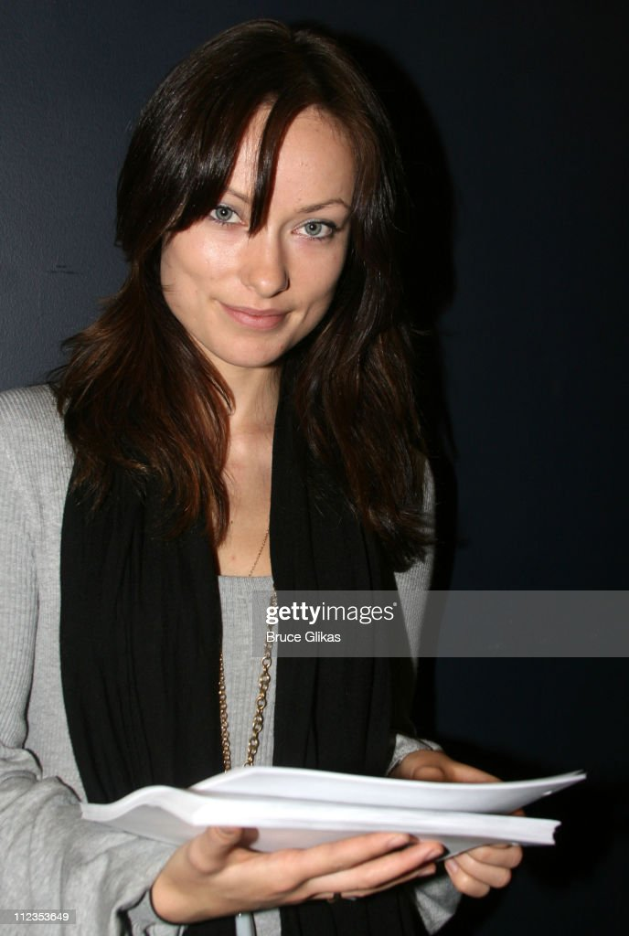 """The Black Donnellys"" Olivia Wilde Rehearses Beauty on The Vine : News Photo"