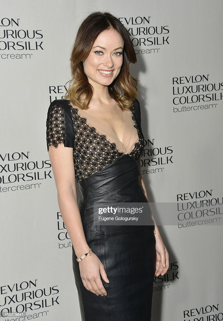 Revlon Luxurious ColorSilk Buttercream Launch Hosted By Olivia Wilde