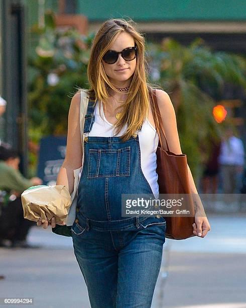 Olivia Wilde is seen on September 23 2016 in New York City