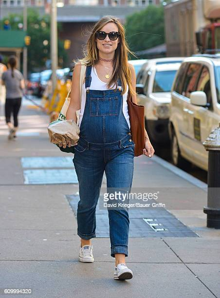 Olivia Wilde is seen on September 23 2016 in New York City