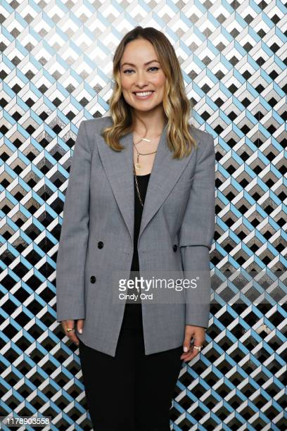 """Olivia Wilde poses for a photoback stage at the """"Booksmart"""" Q&A during the 22nd SCAD Savannah Film Festival on October 29, 2019 at Trustees Theater..."""