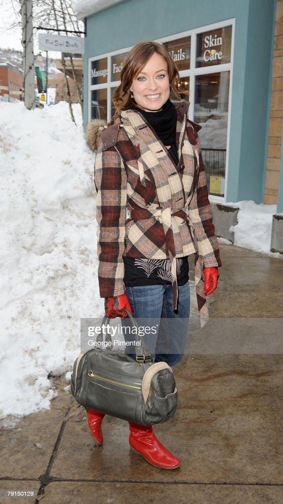 Olivia Wilde seen around town at the 2008 Sundance Film Festival on January 20, 2008 in Park City, Utah.