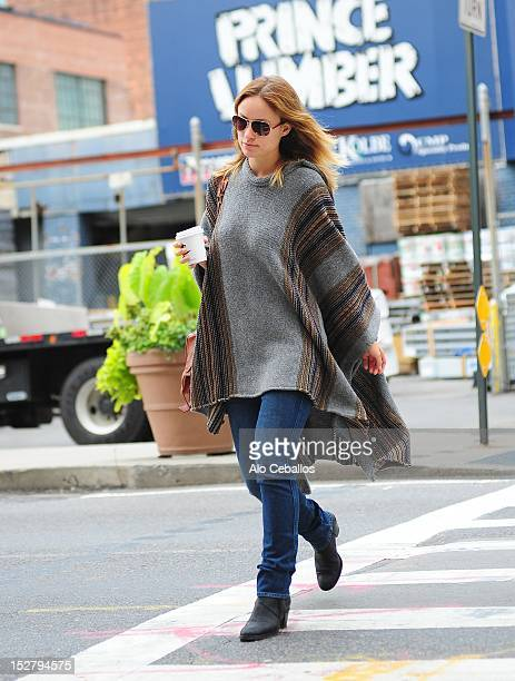 Olivia Wilde sighting at Streets of Manhattan on September 26 2012 in New York City